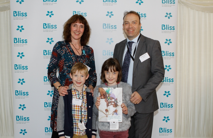 Chris Heaton-Harris MP at Bliss Report Launch Event